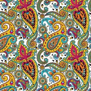Maharani Intricate Indian Paisley