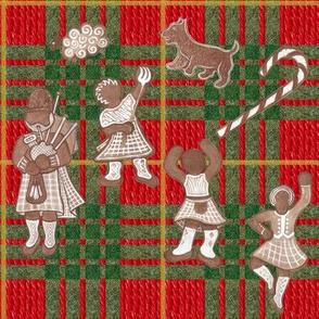 Wee Gingerbread Scotsmen