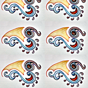 Indian Abstract Paisley