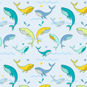 Bright whales