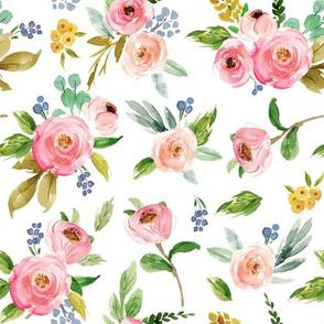 Spring Pink Florals