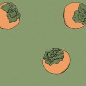 Persimmon Creamy green&orange