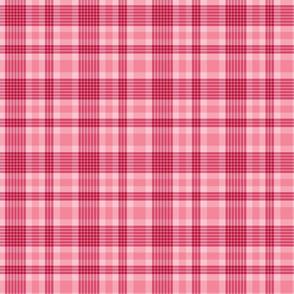 Pink Valentine's Plaid