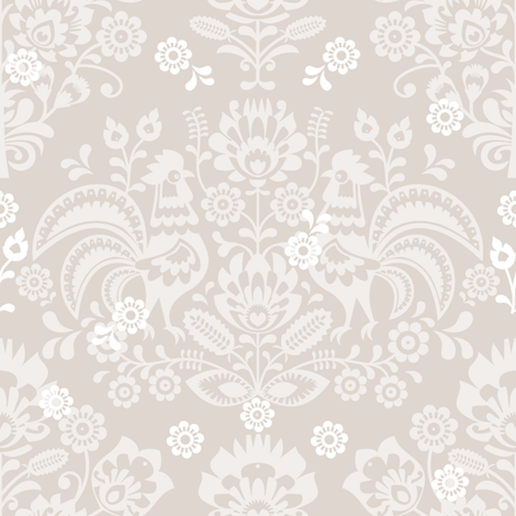 Irena belgian linen  fabric by lilyoake on Spoonflower - custom fabric