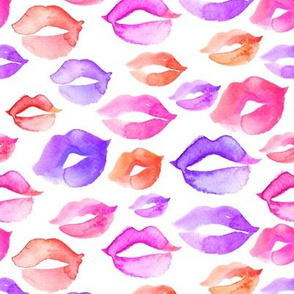 Lipstick Kisses 8""