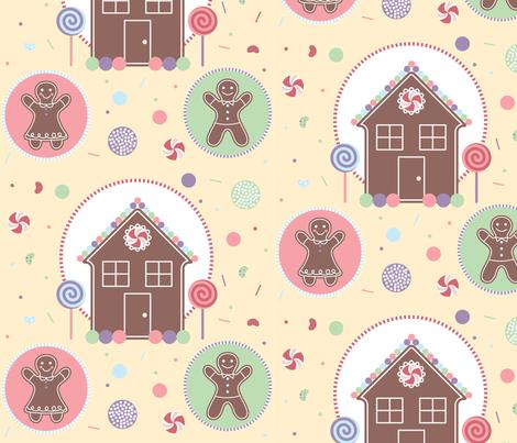 WinterWonderCandyLand_02 fabric by nikijin on Spoonflower - custom fabric
