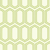 Elongatedhexagongeometricpattern-linegreenonwhite-12cm150dpi_shop_thumb