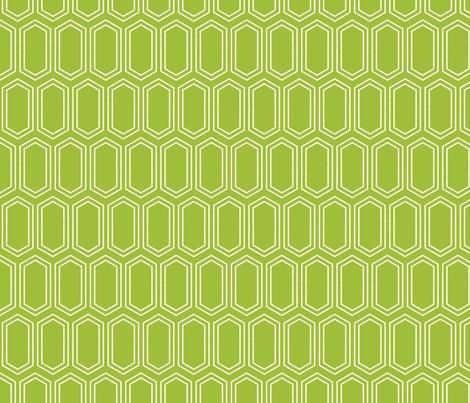 Elongatedhexagongeometricpattern-linewhiteongreen-12cm150dpi_shop_preview