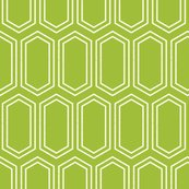 Elongatedhexagongeometricpattern-linewhiteongreen-12cm150dpi_shop_thumb