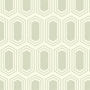 Elongated Hexagon Geometric Pattern (Fill Dark on Light Neutral Grey)