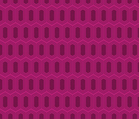 Elongatedhexagongeometricpattern-filldeepredonmagenta-12cm150dpi_shop_preview