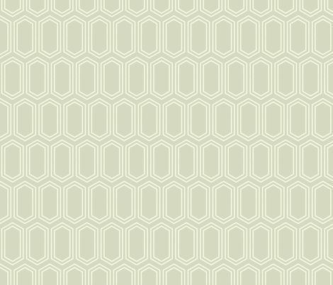 Elongated Hexagon Geometric Pattern (Line Light on Dark Neutral Grey) fabric by kristykate on Spoonflower - custom fabric