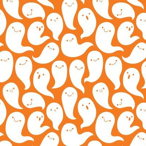 Friendly Ghosts (Orange)