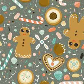 Oh snap... Gingerbread and candy!