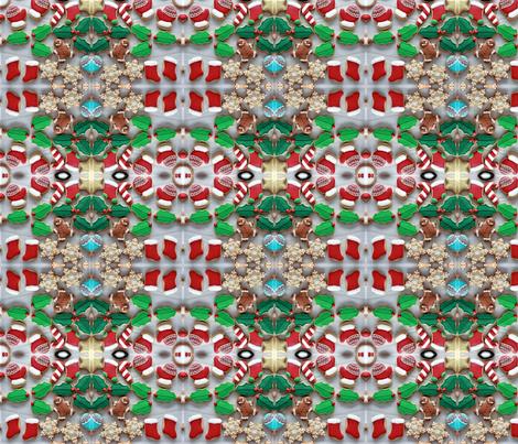 Cookie cutter affair fabric by nettxus on Spoonflower - custom fabric