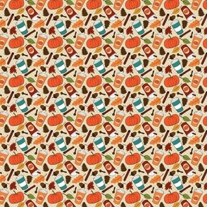 Pumpkin Spice Latte Pattern 2