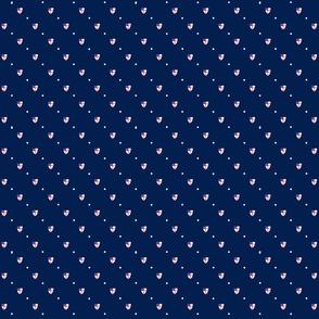 Episcopal Shield Blue Mini Dot