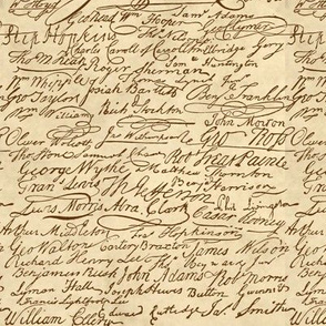 Signers of The Declaration of Independence