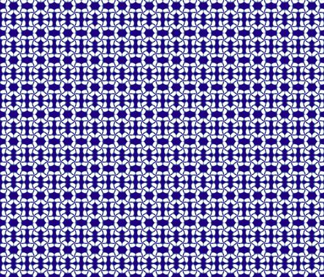 Kumo Blue Shibori Indigo Navy and White Plumeria fabric by saburkitty on Spoonflower - custom fabric