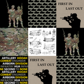 """6"""" Army Faux Quilt"""