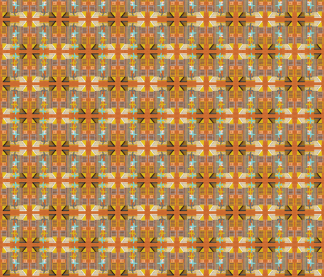 Traveliere in Rust fabric by tamer-animals on Spoonflower - custom fabric