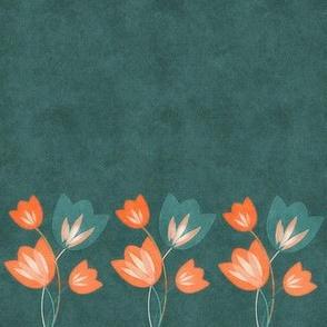 Tulip in Relief