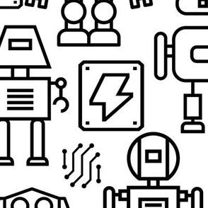 17 Robots largest scale