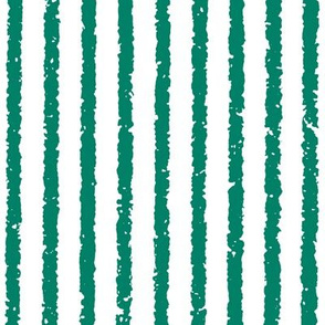 Vertical Lullaby Stripes(Green/White)