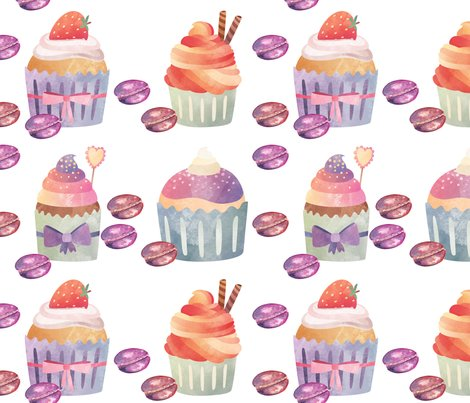 Rcupcakes-macarons-on-white-by-floweryhat_shop_preview