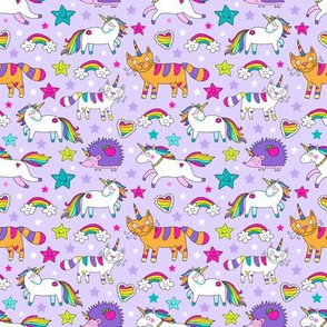 Unicorns and caticorns