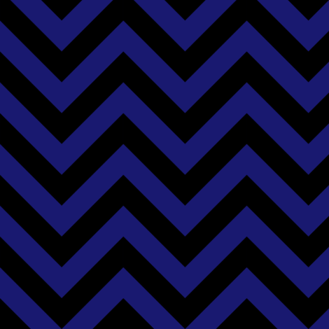 Three Inch Midnight Blue and Black Chevron Stripes fabric by mtothefifthpower on Spoonflower - custom fabric
