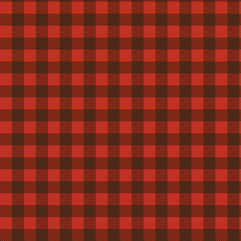 Buffalo Plaid Small Repeat fabric by jannasalak on Spoonflower - custom fabric
