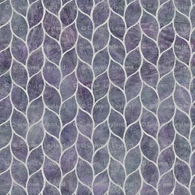 leaf tile purple