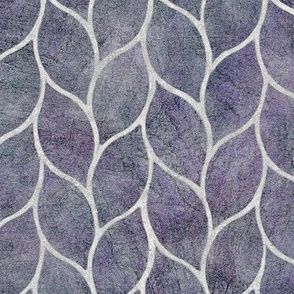 leaf tile purple
