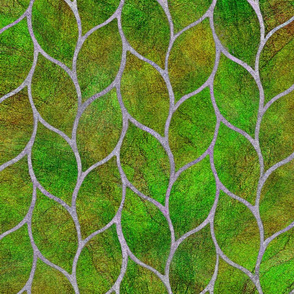 leaf tile green