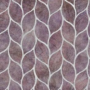 leaf tile lavender