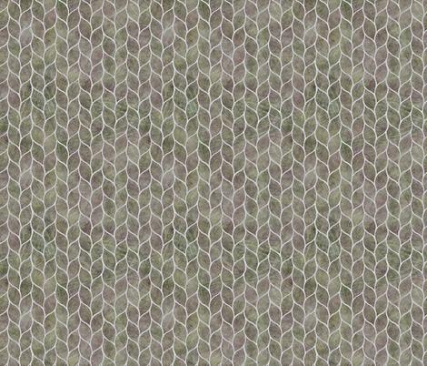 leaf tiles blush silver grey fabric by wren_leyland on Spoonflower - custom fabric