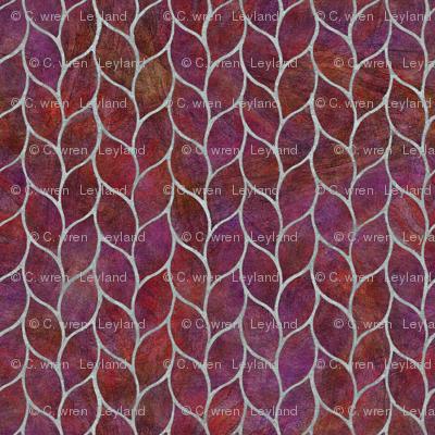plum leaf tiles