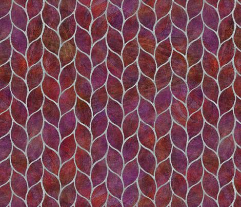 plum leaf tiles fabric by wren_leyland on Spoonflower - custom fabric