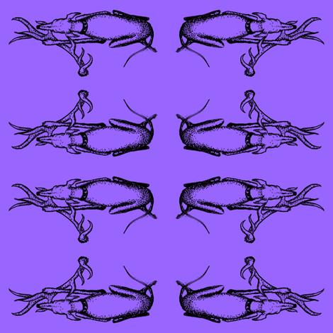 Antler_Whippet1_Inktober1-lavendar-v fabric by cloudsong_art on Spoonflower - custom fabric