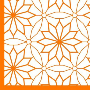 Rosettes in Circles (with border)