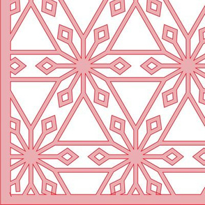 Triangles and Diamonds (with border)