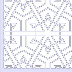 Connected Triangles (with border)