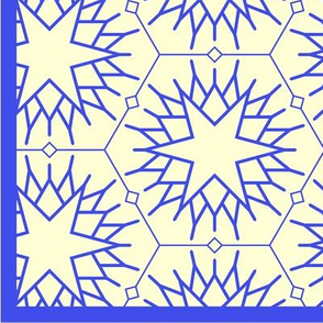 Blue stars (with border)
