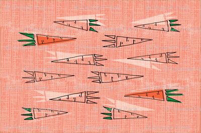 20 Carrots Tea Towel