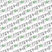 Joy to the World Calligraphy