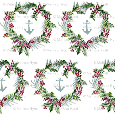 anchors  and wreaths