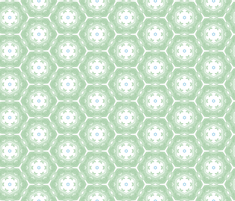 tiling_Fish_Dots_4 fabric by erica_lindberg_designs on Spoonflower - custom fabric