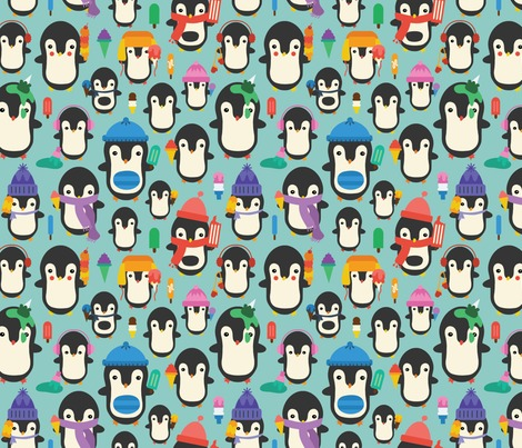Rrrspoonflower_lake_icecreampenguins_small_contest165370preview