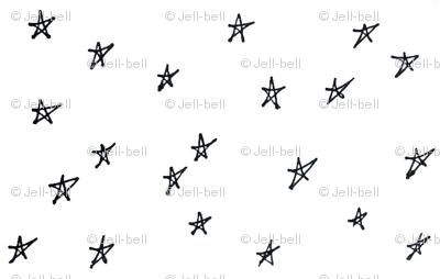 tiny hand drawn stars